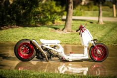 Scooter Custom, Honda Ruckus, Mini Bike, Golf Carts, Cars And Motorcycles, Motorbikes, Bikers, Scooters, Vehicles