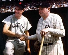 Ted Williams and Babe Ruth