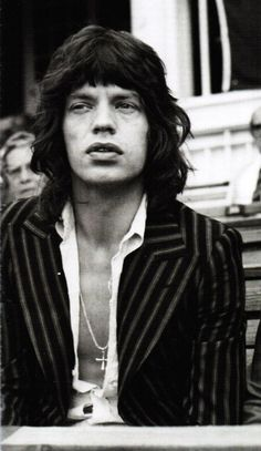 Mick...sometimes over the top, but generally a stylish and beautiful man.