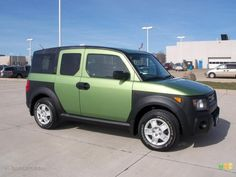 2008 Honda Element LX Kiwi Green