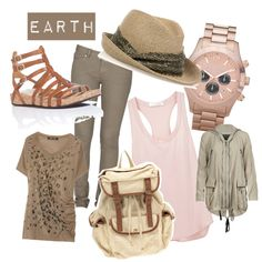 Earthy glamorous outfit