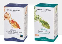 Hampstead Tea refreshes range of ethically sourced teas