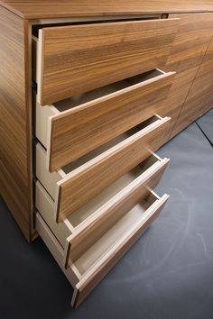 MOBILAMO im Detail - Highboard nach mass vom Tischler Wood Veneer, Real Wood, Shelves, Home Decor, Carpenter, Shelf, Timber Wood, Shelving, Shelving Racks