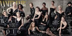 Hollywood's top #women grace the latest cover of Vanity Fair. We could stare at it all day.   #Inspire #Empower #Equality #Diversity #Film #Hollywood
