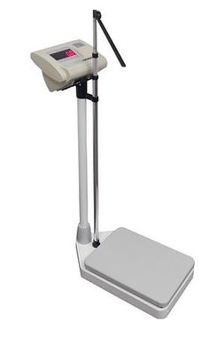 Electronic Weighing scale with adjustable Height measure Measuring Scale, Weighing Scale, Scale, Libra