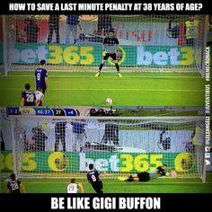 FACT: Buffon is not human.