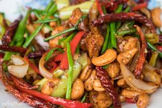 Authentic Thai cashew chicken recipe. Not necessarily gluten-free on its own, but some small substitutions and care in selection and you can make this GF pretty easily without damaging the authenticity much. /NSC