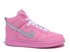 premium selection 60786 8ba94 Nike Dunk High Women Flash Pink Metllic Silver,Style code317814-600