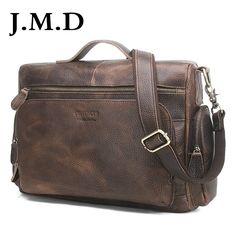 84.64$  Buy now - http://alili0.shopchina.info/1/go.php?t=32798921169 - J.M.D Genuine Leather Men Bag Vintage Totes Handbags Men Messenger Bags Briefcase Men's Travel Bags Shoulder Bag  #shopstyle