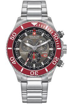 Swiss Military Hanowa Immersion Mens Silver Stainless Steel Watch 6 5226 04 009 | eBay