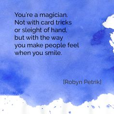 The Magician by Robyn Petrik     #poetry