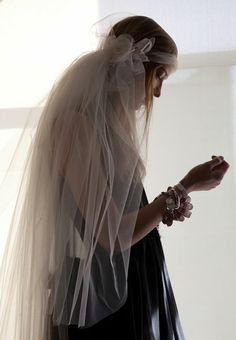 Cool wedding veil