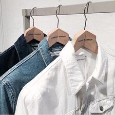 One, two, three Samsøe & Samsøe denim jackets.