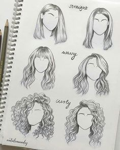 Need some drawing inspiration? Well you've come to the right place! Here's a list of over 30 amazing hair drawing ideas and inspiration. Why not check out this Art Drawing Set Artist Sketch Kit, perfect for practising your art skills. Cool Art Drawings, Pencil Art Drawings, Art Drawings Sketches, Hair Drawings, Flower Drawings, Beautiful Drawings, Drawing With Pencil, Amazing Drawings, Drawing Hair Tutorial