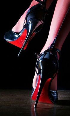 Louboutin SlutsYou can find Hot high heels and more on our website. Stilettos, Stiletto Heels, High Heel Boots, Heeled Boots, Talons Sexy, Frauen In High Heels, Look Girl, Stockings Heels, Black High Heels