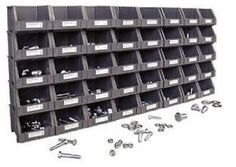 800 Piece Metric Nut Bolt Workshop Home Job Storage Organizer Bin Assortment. Includes: (40) heavy duty plastic bins, wall mounting racks, pre-printed identification labels and zinc plated fasteners for corrosion resistance. Grade 8 hex cap screws and Grade 8 flat washers, lock washers and nuts, in coarse thread sizes 6mm to 16mm. Shipping Address -VERY IMPORTANTIf your shipping address is different than your Paypal address, please add the shipping address to your authorized addresses in…