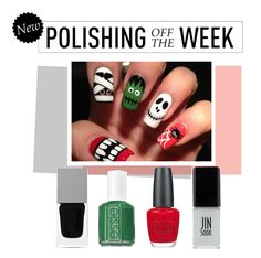 """Polishing Off the Week"" by polyvore-editorial ❤ liked on Polyvore featuring beauty, Givenchy, Essie, OPI, JINsoon, nailpolish, polishingofftheweek and newnownails"