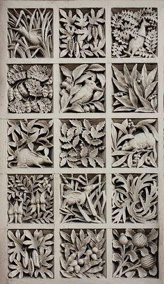 Resultado de imagen para miranda thomas sgraffito carving process technique photo pottery ceramics clay