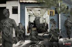 Социальная кампания бразильской полиции.