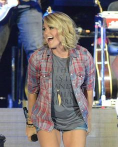 Carrie Underwood was just at The Great Jones County Fair in Monticello, Iowa 2016!   Check out the great entertainment that they have EVERY summer!