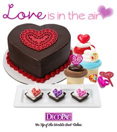 Love is in the air and decorating heartfelt cakes has never been easier than with Valentine's Day inspired decorations.