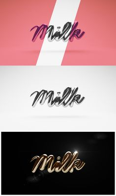 MILK on Behance