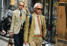 SHADES OF BROWN | A not-that-serious look | Tommy Ton's Street Style: Paris: Style: GQ