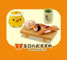 Rilakkuma bear sushi Re-Ment miniature blind box 5