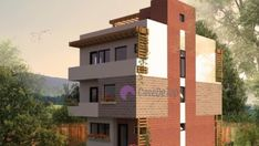 Model 138mp | Case de top Willis Tower, Home Projects, Multi Story Building, Mansions, House Styles, Modern, Home Decor, Houses, Trendy Tree