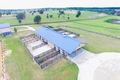 The Villages horse facility in Lady Lake, Florida - barn