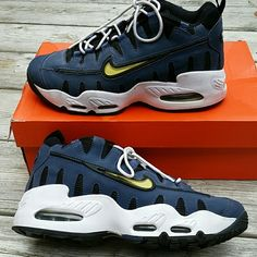 Nike Retro Air max Nomo Sneakers Size 5.5Y EUC Nike Retro Air max Nomo Sneakers Size 5.5Y Size 5.5 is roughly a Size 7 Women's EUC Super Excellent Condition! These are VERY reasonably priced. They are priced way more on Auction sites, other Seller sites. I am NOT accepting offers. I really don't care if you plan on reselling, I'm ok with that. You can earn double what I'm charging, there are LOADS of Nike Sneaker Collector's out there. NO TRADES NO OFF-SITE TRANSACTIONS Nike Shoes Sneakers