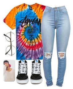 T O H U B O H U by poundcakecake on Polyvore featuring polyvore, fashion, style, Vans, ZeroUV and clothing Aryelleee