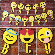 Hey, I found this really awesome Etsy listing at https://www.etsy.com/listing/477754010/emoji-happy-birthday-banner-emojis-party