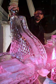 Ice bar in Las Vegas