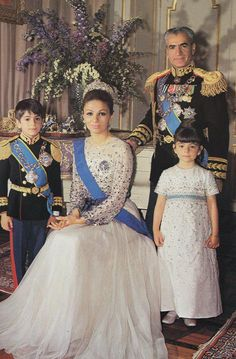 Shah Reza Pahlevi and the Royal Family, Persia