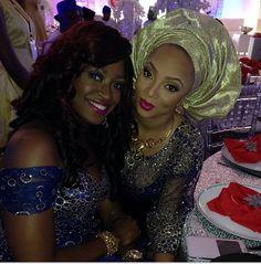 Kate and Lola Okoye (Peter's wife)