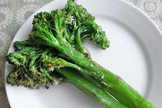 Sautéed Broccolini by ezrapoundcake. Recipe by Ina Garten: This is a simple and tasty side dish. 'Broccolini is a cross between broccoli and Chinese kale. The florets are looser and more tender than you find with broccoli, and the stalks are longer and thinner, more like asparagus.' #Broccolini #ezrapoundcake #Ina_Garten