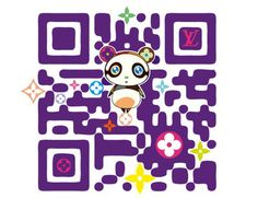 Designer QR Codes: Louis Vuitton Takashi Murakami Make QR Codes Fashionable Takashi Murakami, Web Design Agency, Branding Design, Louis Vuitton Murakami, Graffiti, Superflat, Code Art, Qr Codes, Tinkerbell