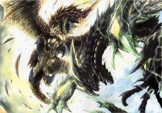 Monster Hunter Seregios vs Astalos