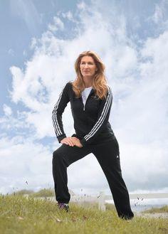 Steffi Graf - Adidas Trainingsanzug aus recyceltem Polyester