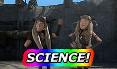 """""""Science!"""" *Horrible coughing* My goodness I hated the way they messed their personalities."""