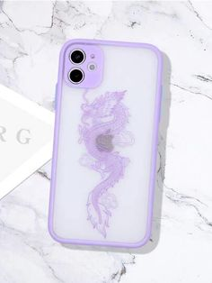 Chinese Dragon Contrast Frame iPhone Case