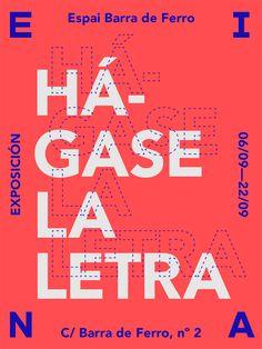 Área Visual - Blog de Arte y Diseño: Rafa Goicoechea. Proyectos tipográficos