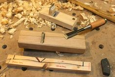 Japanese Woodworking Tools, Japanese Tools, Japanese Chisels, Wooden Plane, Hand Tools, Community, Hands, Diy, Tools