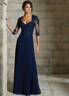Popular Navy Blue Dresses For Wedding