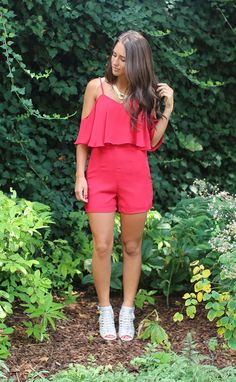 valencia romper - red