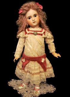 """Sold ~ 32"""" Antique French Bebe Jumeau Doll"""