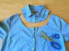 ¡Hola! Preparadas para lucir hombros este verano? Con el DIY de hoy, les tengo otra bonita idea para hacer una blusa. Si aun no has visto mi primer blusa de hombro descubierto, haz clic aquí. Aprovechando que estas blusas están en todo su apogeo y que ando inspirada, decidí echarle tijera a una camisa…