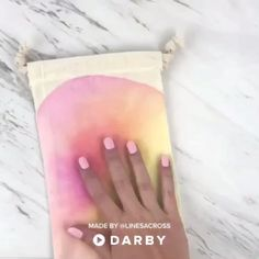 How to Make DIY Watercolor Bags #darbysmart #diy #diyprojects #watercoloring #paint #partyfavors #partyideas #partydecor #sharpies