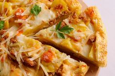 Quiche, Antipasto, Lasagna, Italian Recipes, Baked Potato, Mashed Potatoes, Cauliflower, Macaroni And Cheese, Nom Nom